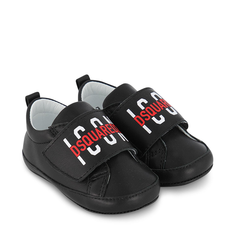 Afbeelding van Dsquared2 67116 babysneakers zwart