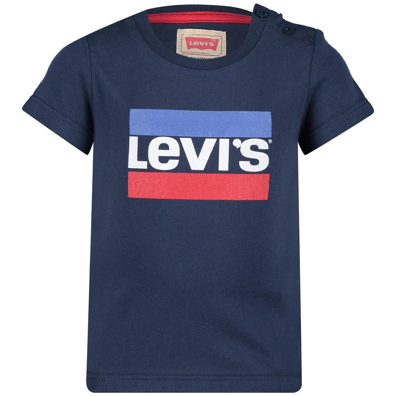 Afbeelding van Levi's NN10004 baby t-shirt navy