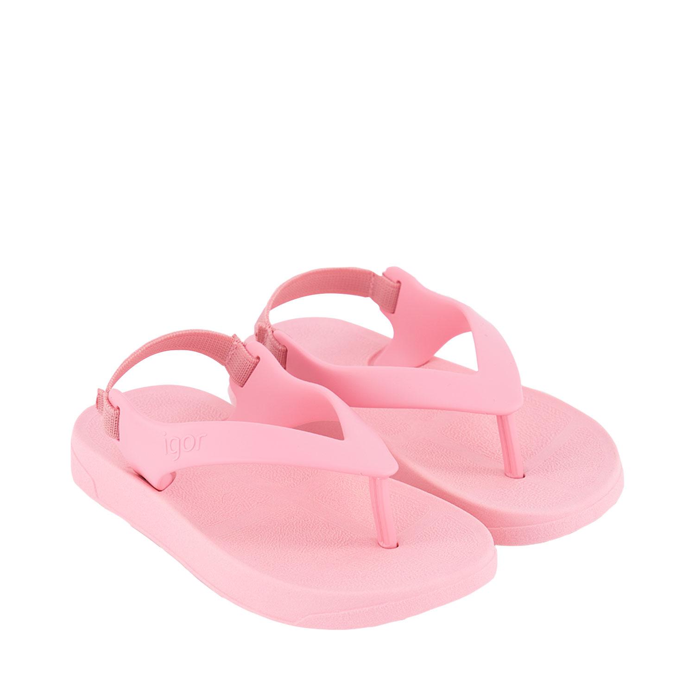 Afbeelding van Igor S10267 kinderslippers licht roze