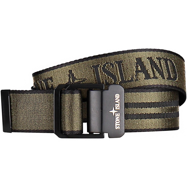 Afbeelding van Stone Island 701690363 kinderriem army