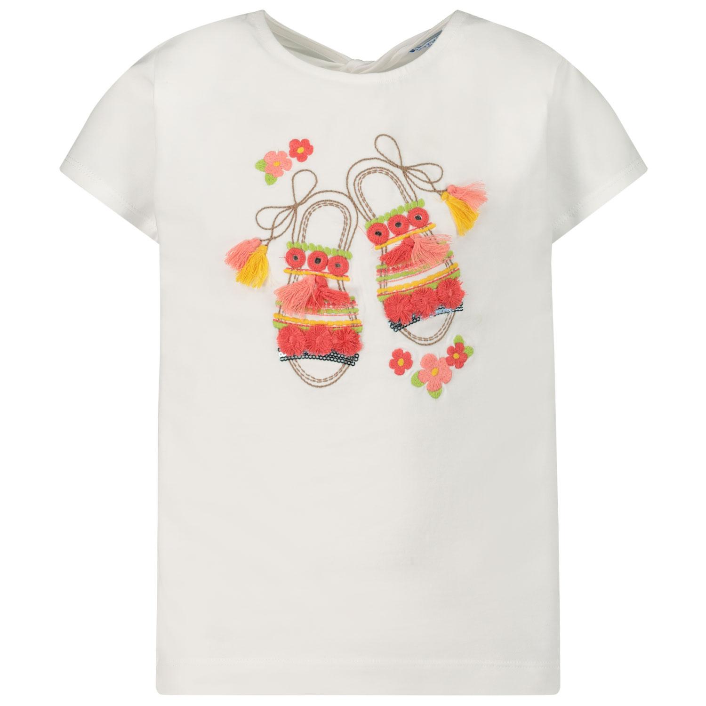 Afbeelding van Mayoral 3014 kinder t-shirt wit