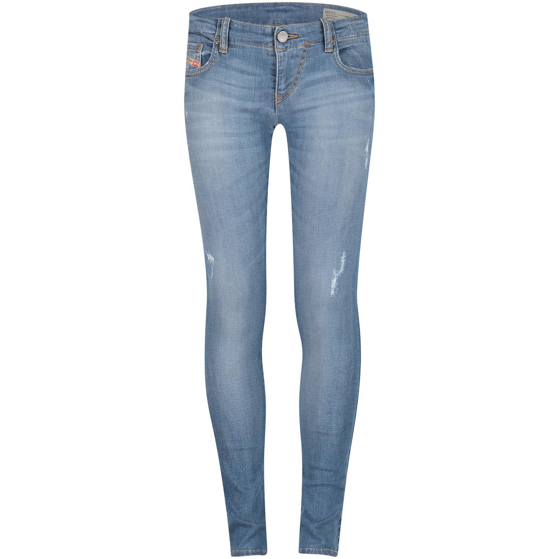 Afbeelding van Diesel 00J3S5 KXB0Y kinderbroek jeans