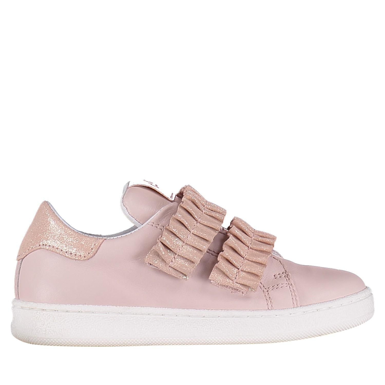 Afbeelding van Clic 9705 kindersneakers licht roze