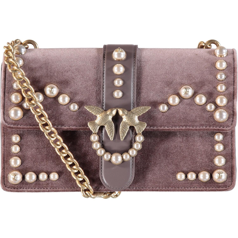 Afbeelding van Pinko 1P216K dames tas licht grijs