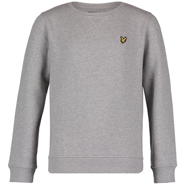 Picture of Lyle & Scott LSC0016S kids sweater grey