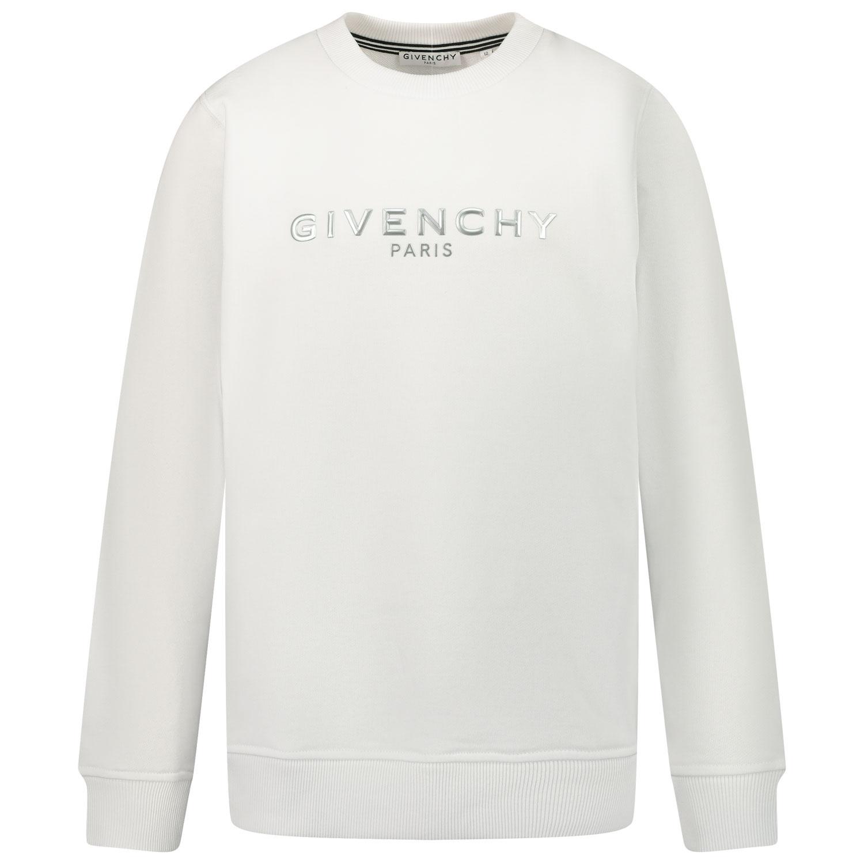 Afbeelding van Givenchy H25241 kindertrui wit