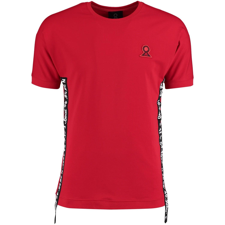 Afbeelding van Believe That BLVTTS180611 heren t-shirt rood