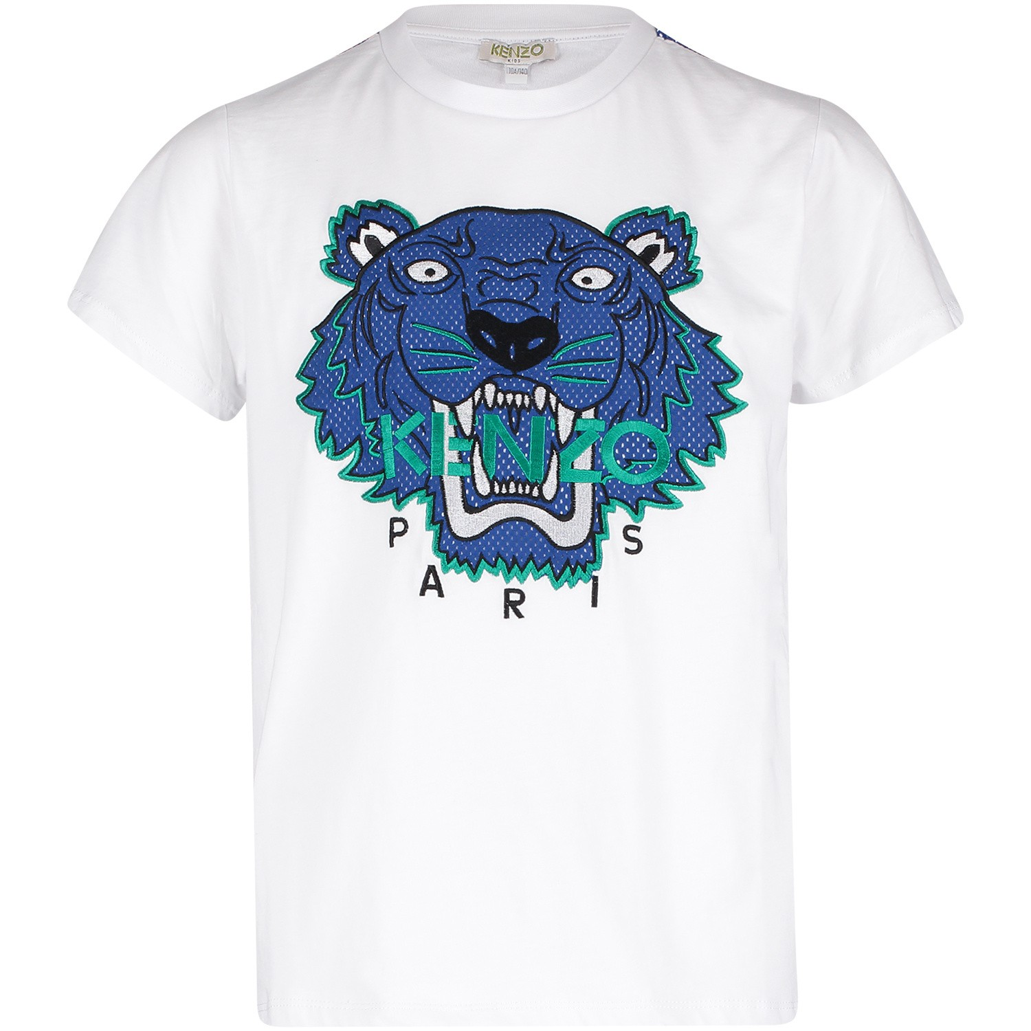 Picture of Kenzo KN10708 kids t-shirt white