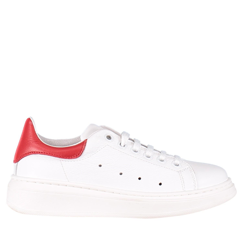 Afbeelding van Coccinelle 6326TR kindersneakers wit