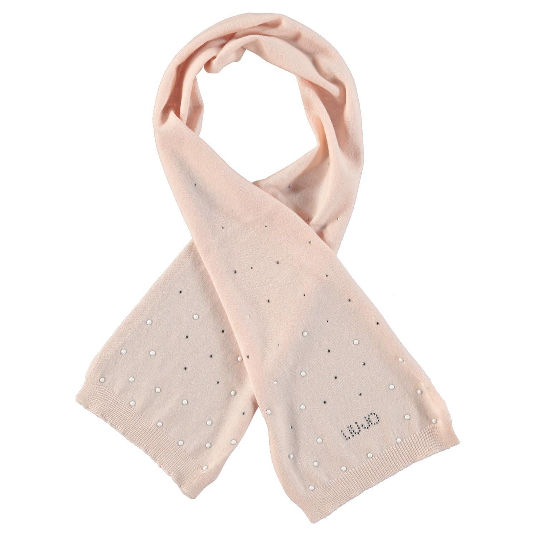 Afbeelding van Liu Jo H68007 baby sjaal oud roze