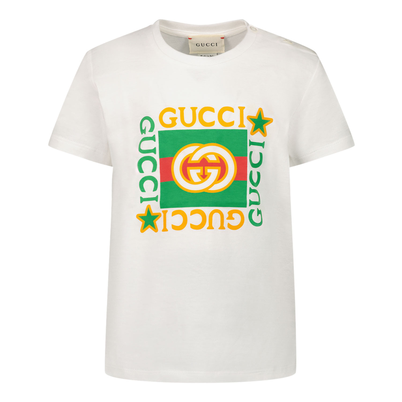 Afbeelding van Gucci 548034 XJCPU baby t-shirt wit
