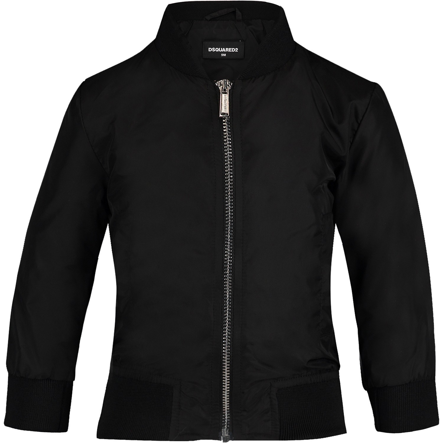 Picture of Dsquared2 DQ03FD baby coat black