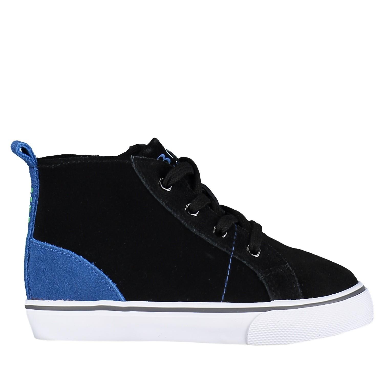 Afbeelding van Boss J09101 kindersneakers zwart