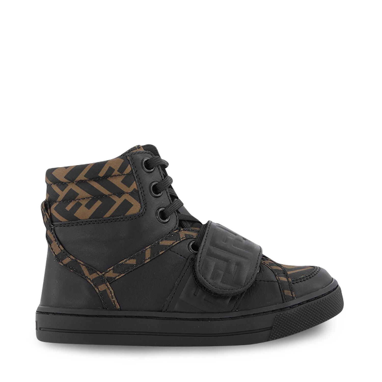 Afbeelding van Fendi JMR351 AD7D kindersneakers zwart