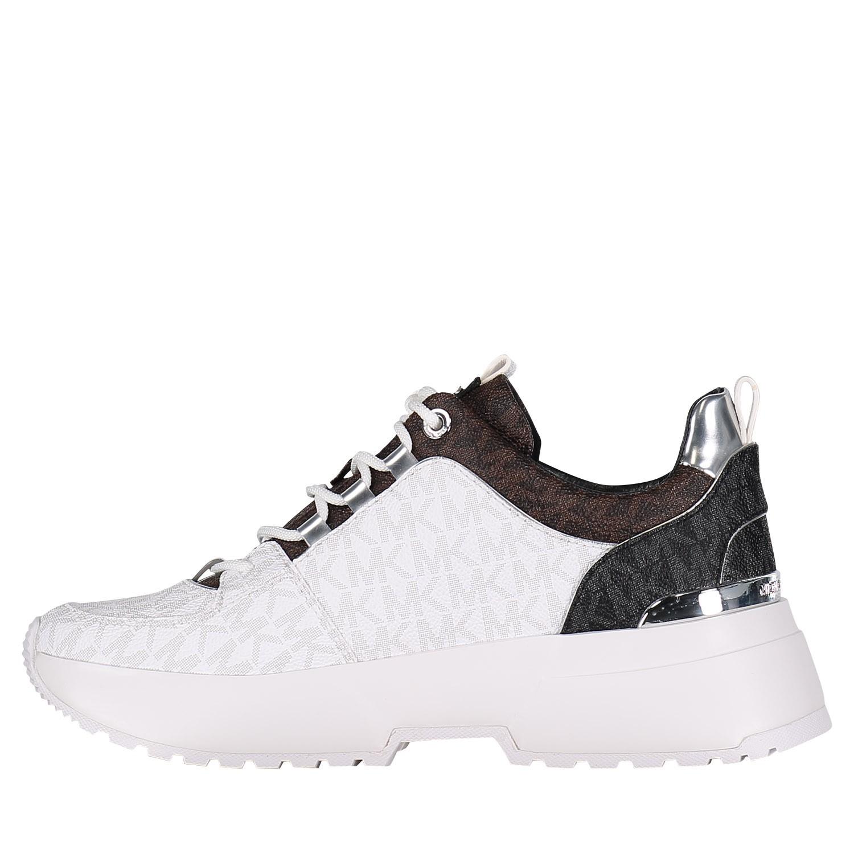 9f5bb8d2be8960 Michael Kors 43R9Csfs1Vpb dames dames sneakers wit bij Coccinelle