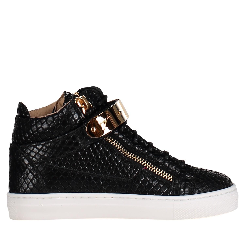 Afbeelding van Guiseppe Zanotti SBE9111/9411 kindersneakers zwart