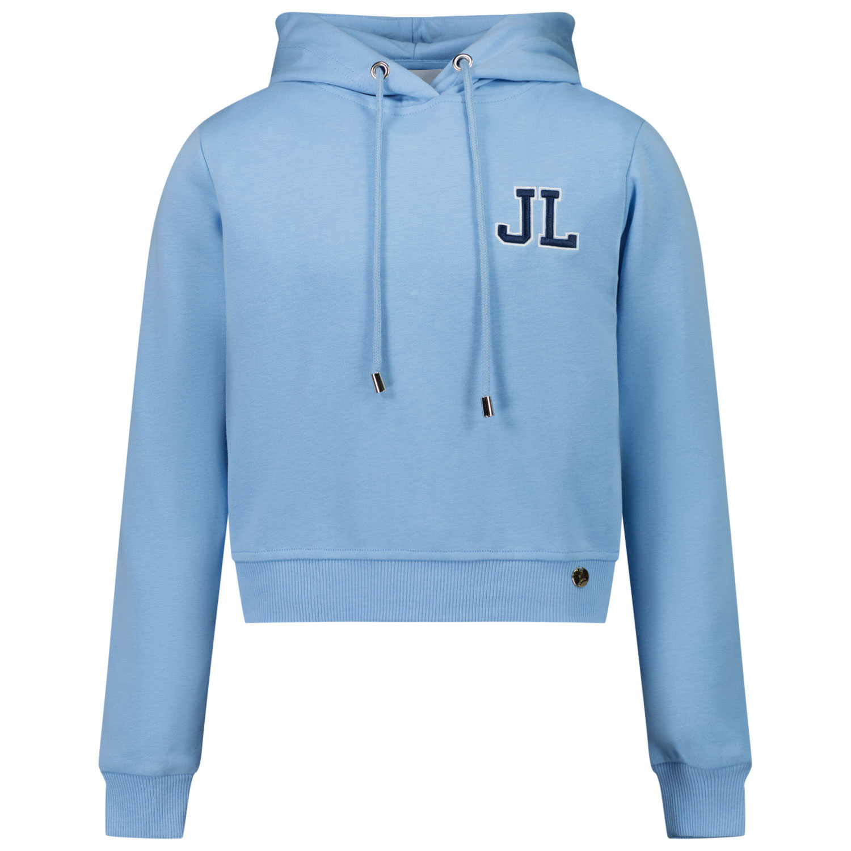 Afbeelding van Jacky Girls JG210302 kindertrui licht blauw