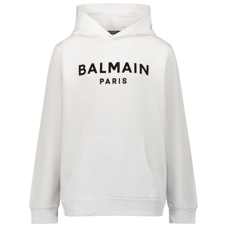 Afbeelding van Balmain 6P4540 kindertrui wit