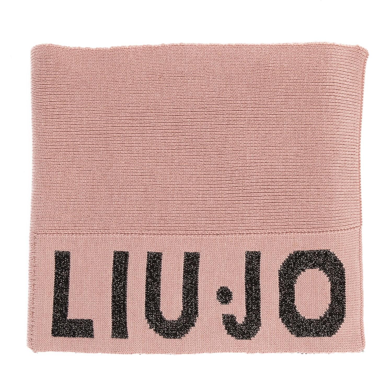 Afbeelding van Liu Jo G69073 kinder sjaal licht roze