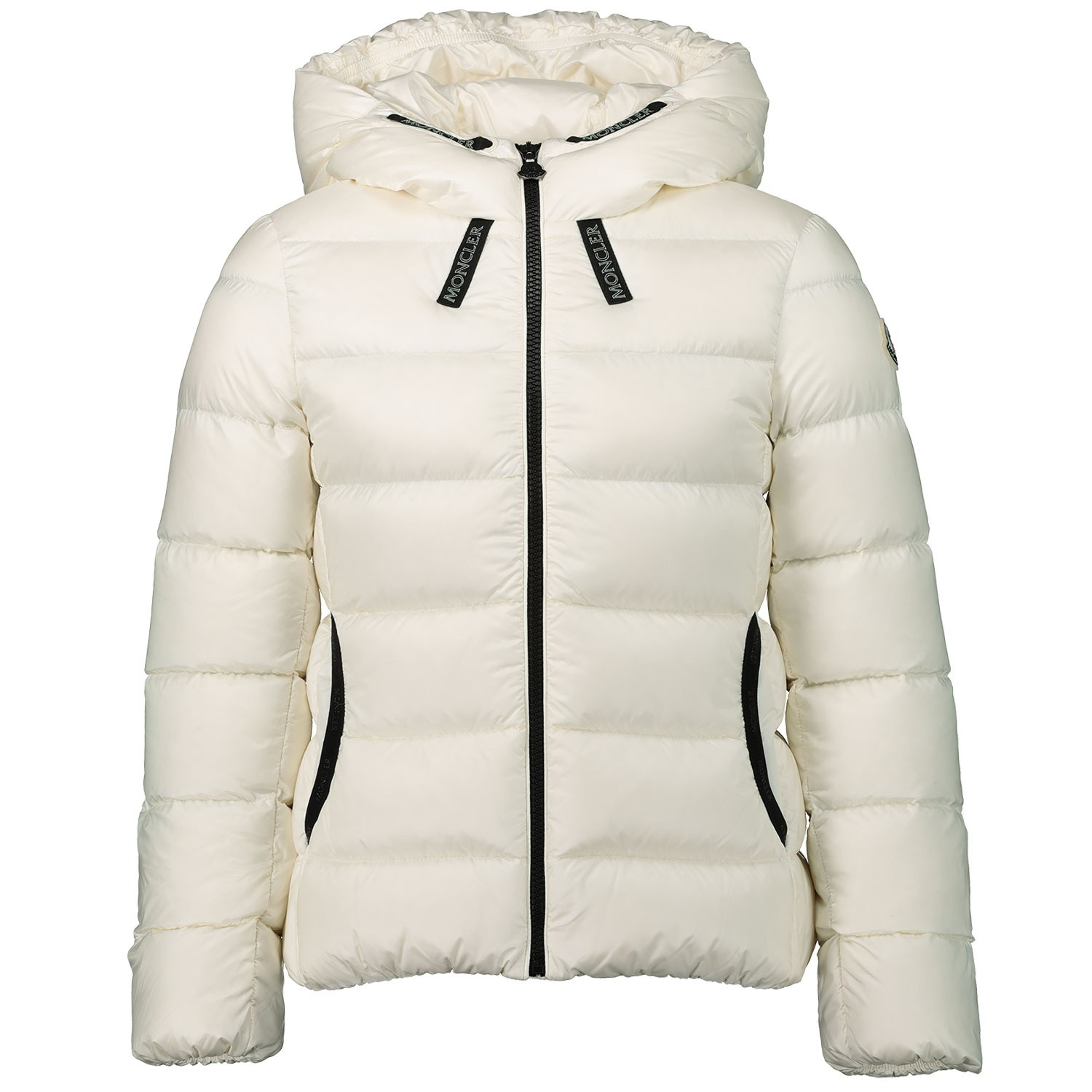Picture of Moncler 4634305 kids jacket off white