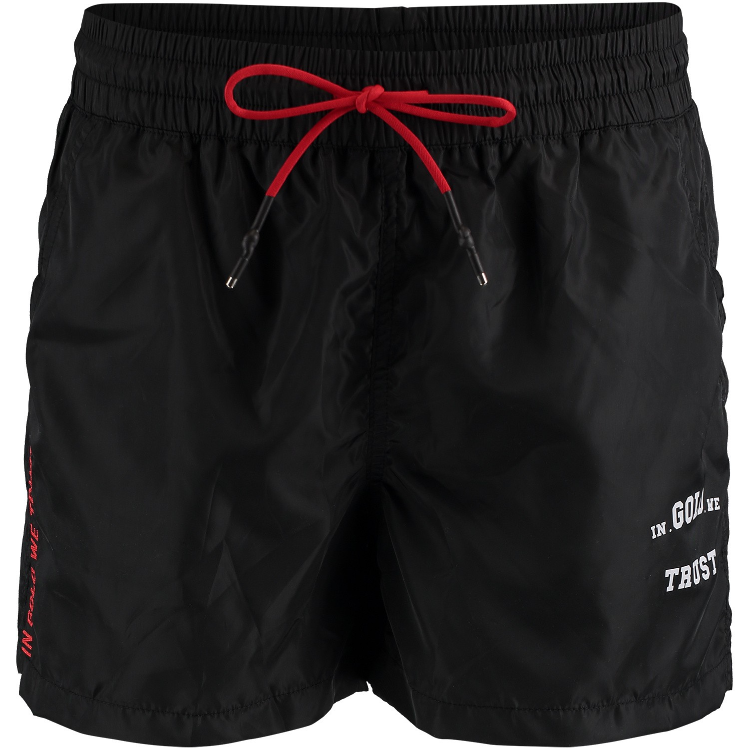 Picture of in Gold We Trust FASW002 mens swimshorts black
