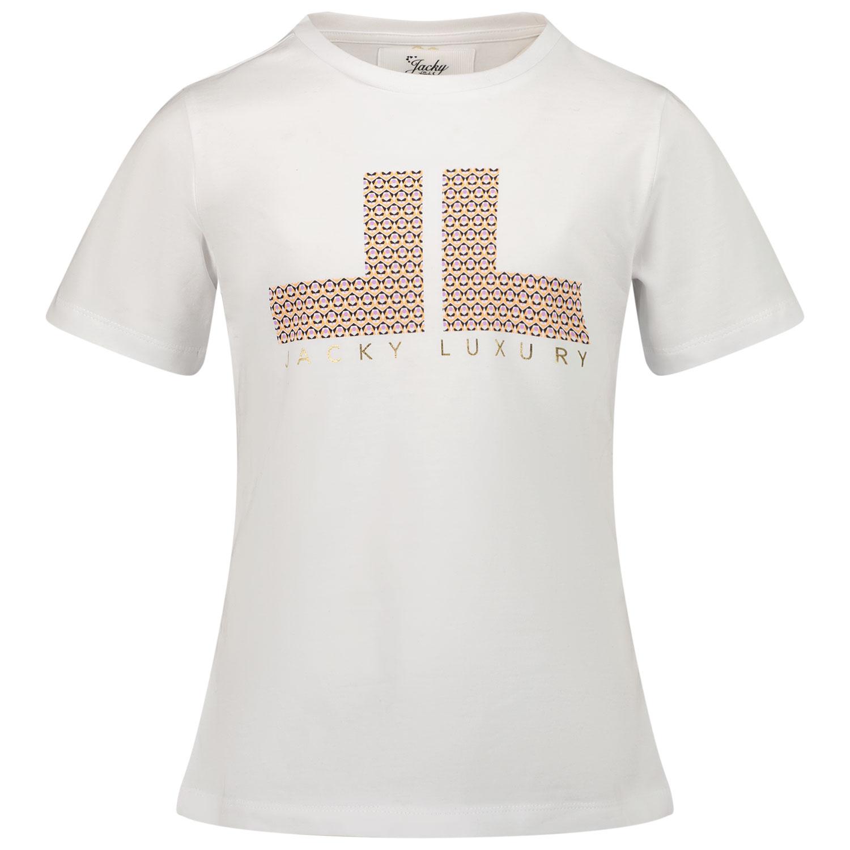 Afbeelding van Jacky Girls JG210610 kinder t-shirt wit