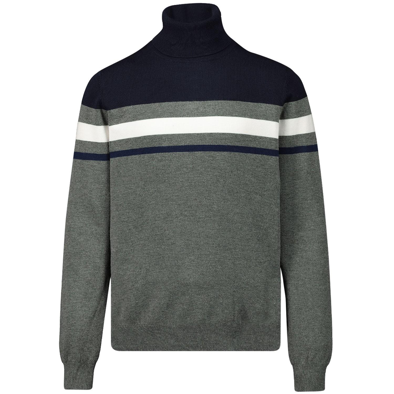 Picture of Antony Morato MKSW01128 kids sweater grey