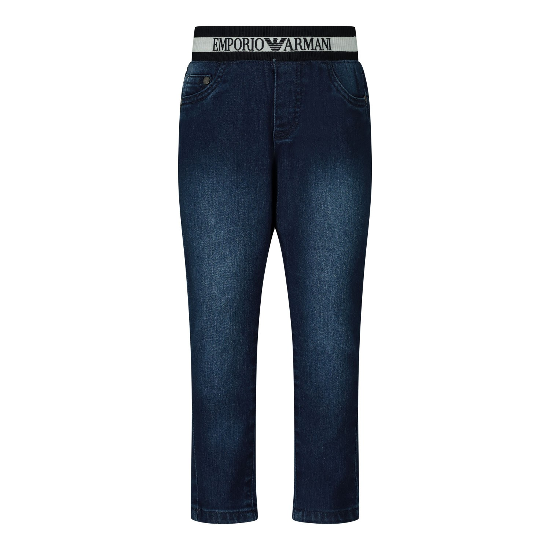 Afbeelding van Armani 3HHJ07 babybroekje jeans