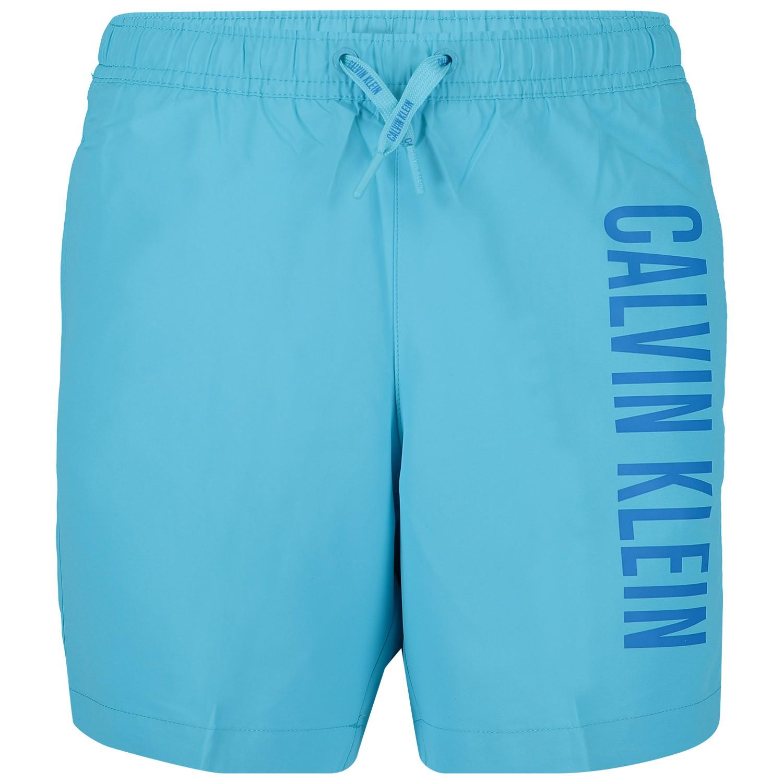 0c04455d3c477f Calvin Klein B70B700202 Kinder Zwemkleding Blauw calvin klein kopen in de  aanbieding