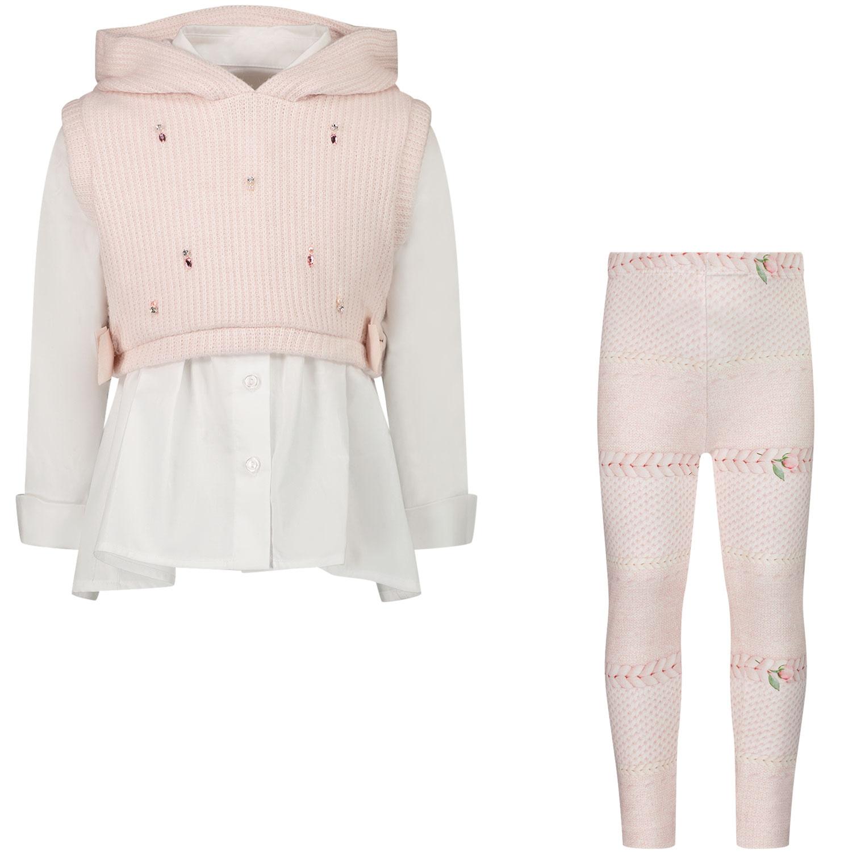 Afbeelding van Lapin 212E5436 babysetje licht roze
