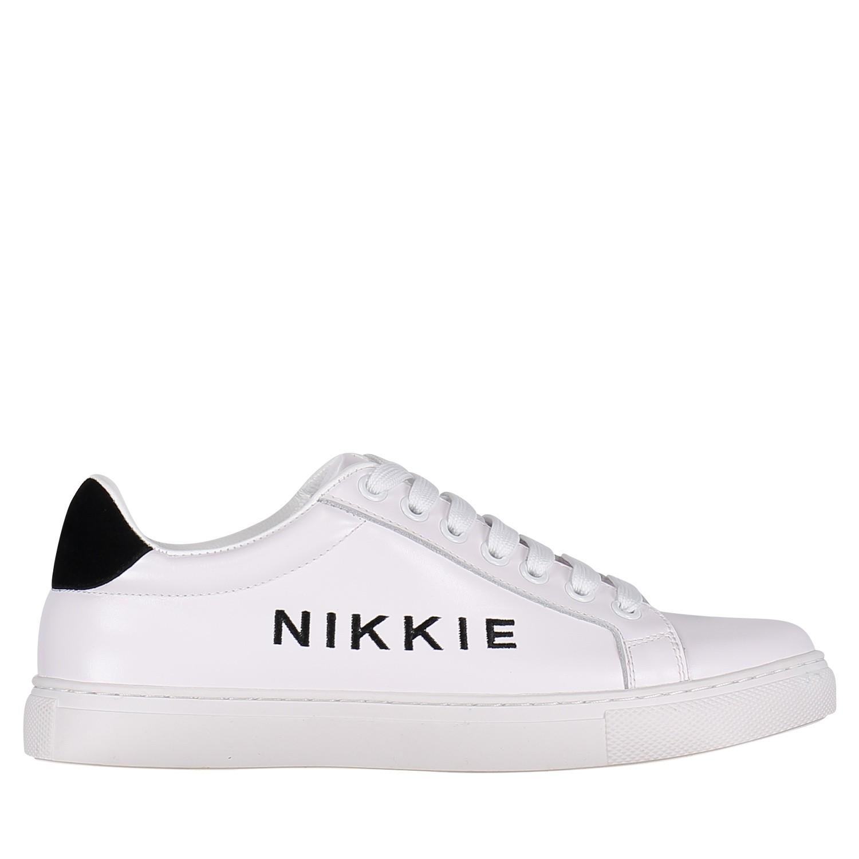 Afbeelding van Nikkie N9088 dames sneakers wit