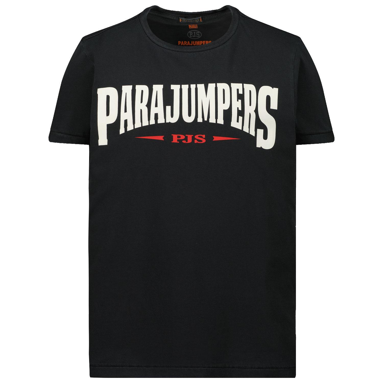 Afbeelding van Parajumpers TS63 kinder t-shirt donker blauw