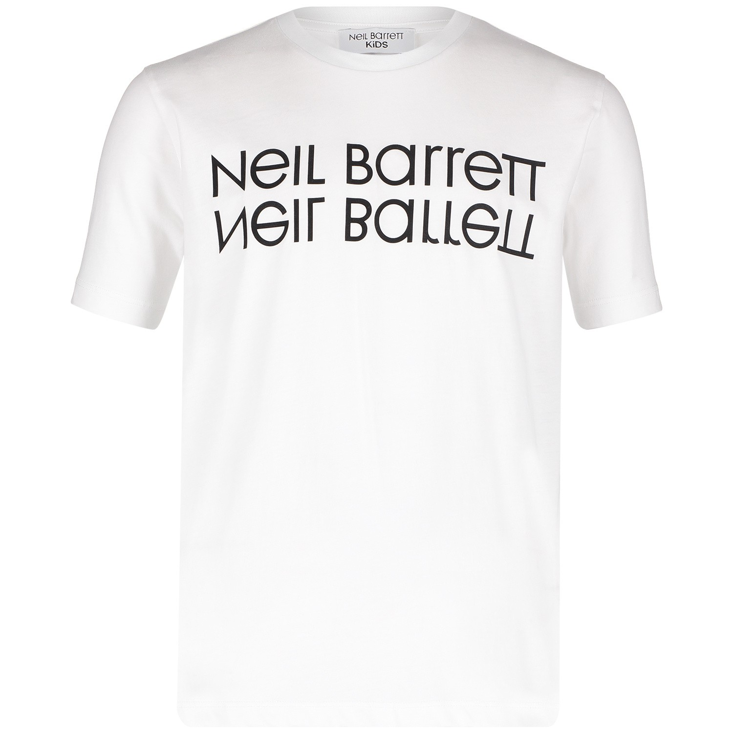 Picture of Neil Barret 018752 kids t-shirt white