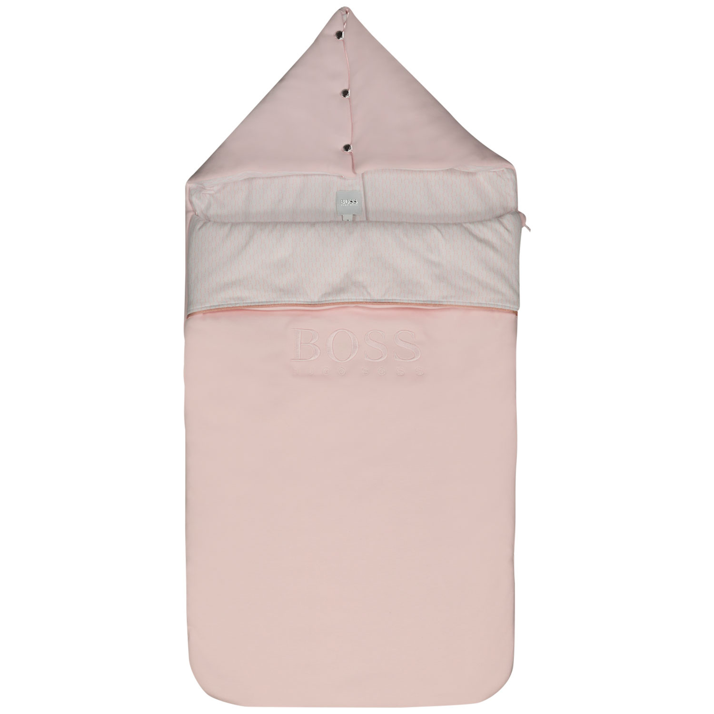 Afbeelding van Boss J90188 babyaccessoire licht roze