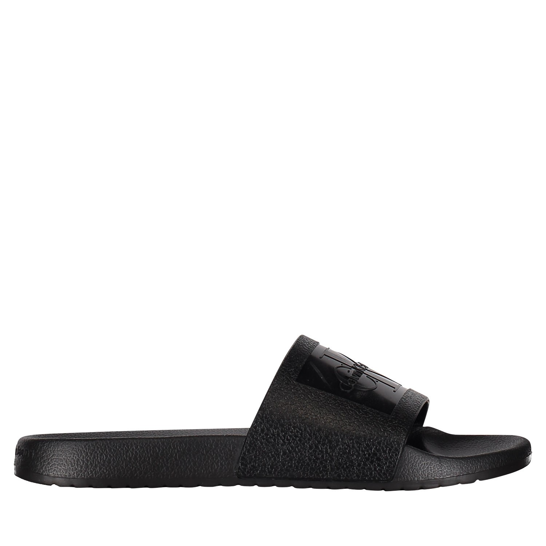 Afbeelding van Calvin Klein VINCENZO heren slippers zwart