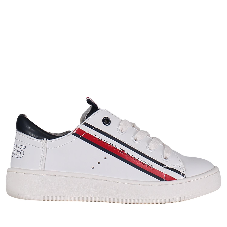 000d7aa89d0 Afbeelding van Tommy Hilfiger 30310 kindersneakers wit