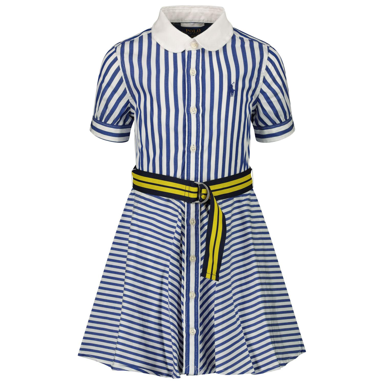 Afbeelding van Ralph Lauren 833014 kinderjurk blauw