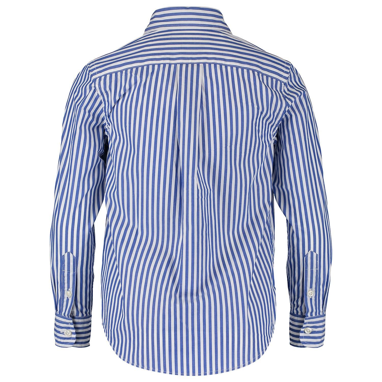 Overhemd Blauw.Ralph Lauren 737245k Jongens Kinder Overhemd Blauw Bij Coccinelle