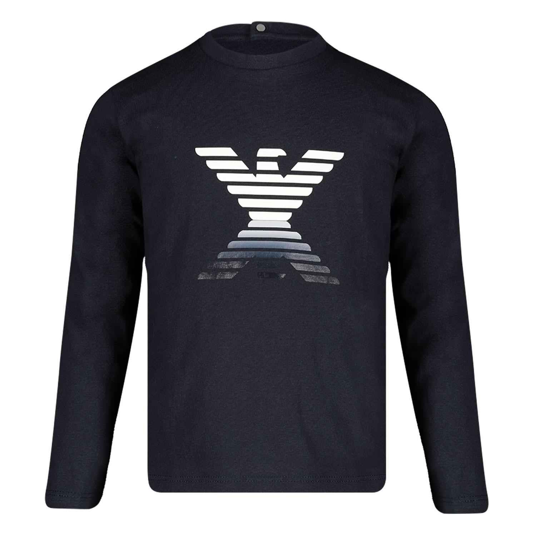 Afbeelding van Armani 6GHT09 baby t-shirt navy
