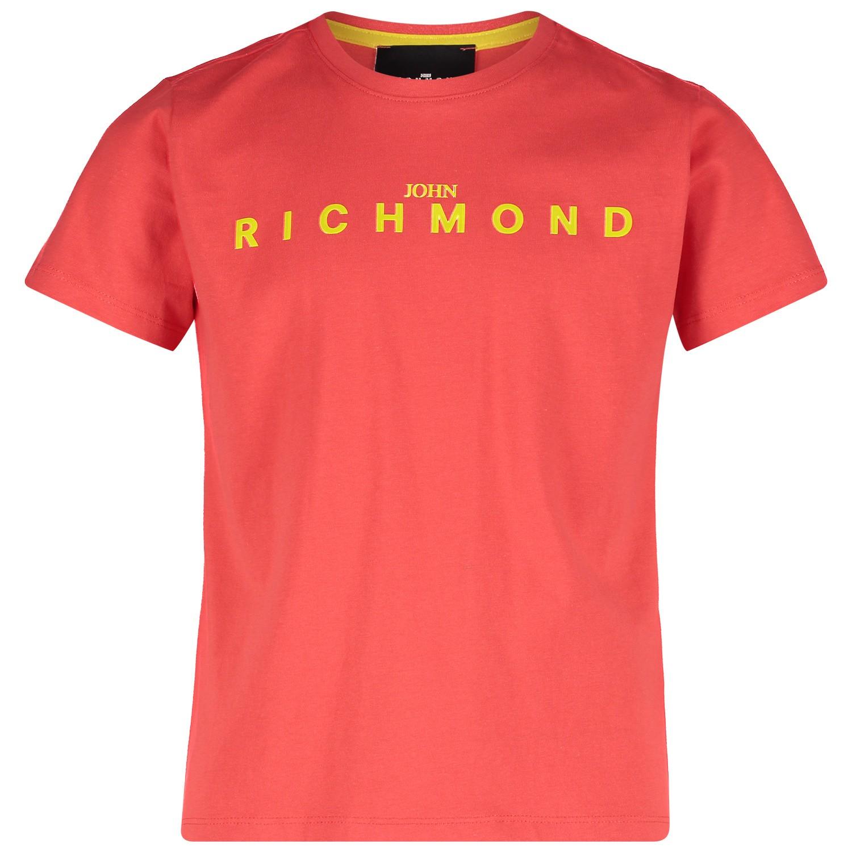 Afbeelding van John Richmond RBP19018 kinder t-shirt rood