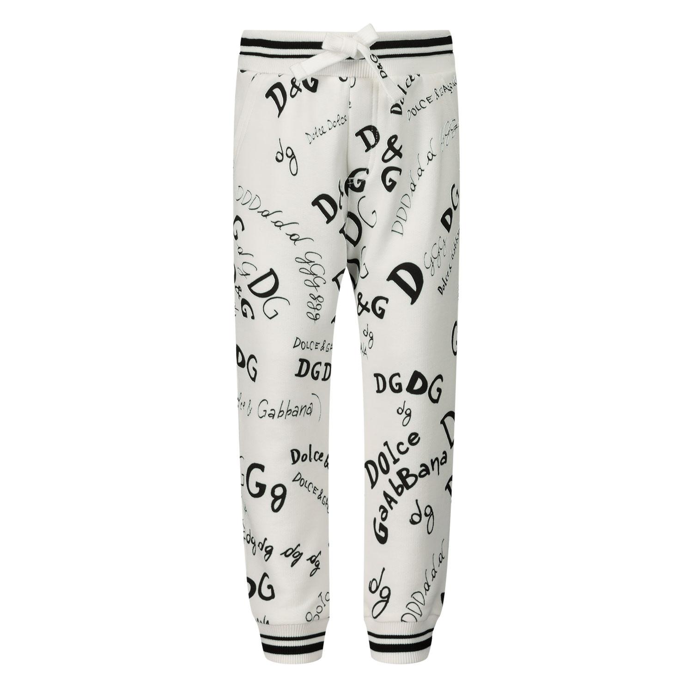 Afbeelding van Dolce & Gabbana L1PU5/HS7D6 baby broekje off white
