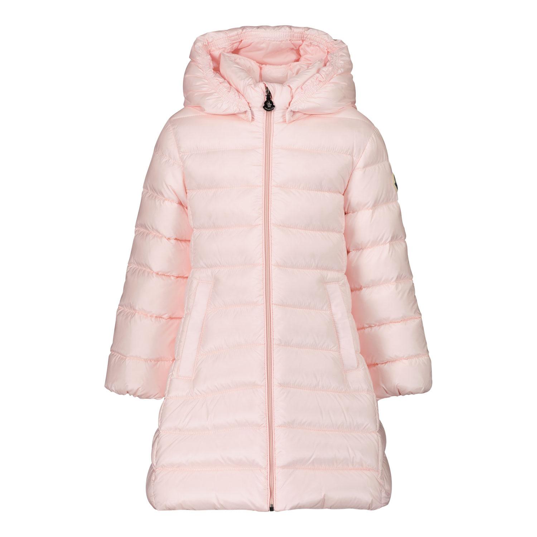 Afbeelding van Moncler 1C50510 babyjas licht roze