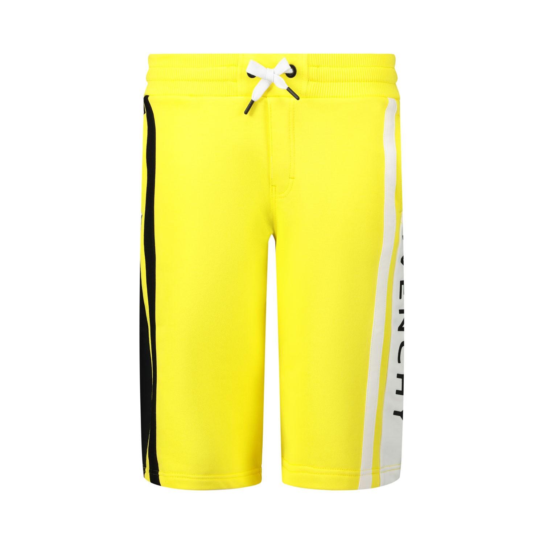 Afbeelding van Givenchy H24079 kinder shorts geel