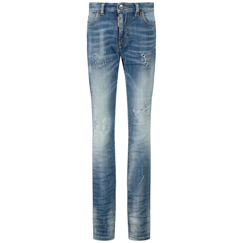 Afbeelding van Dsquared2 DQ01DX D001L broeken jeans