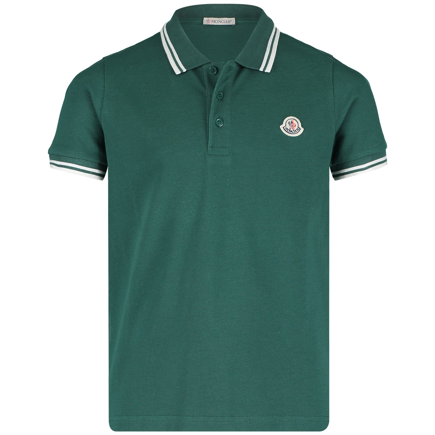 a6ff7054 Picture of Moncler 8306505 kids polo shirt dark green