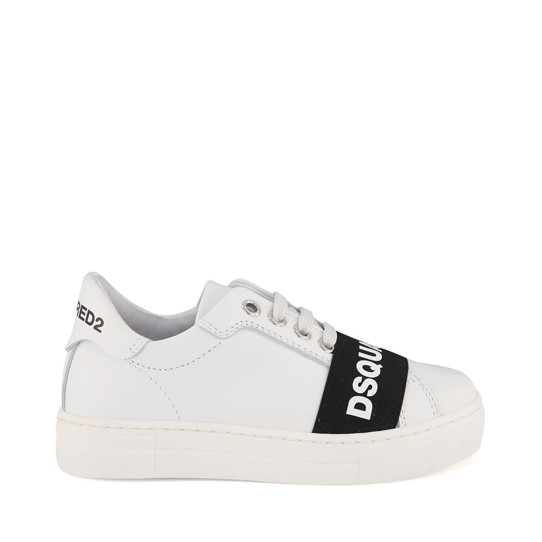 Afbeelding van Dsquared2 63524A kindersneakers wit