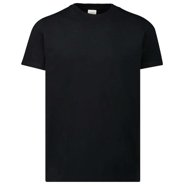 Afbeelding van Pure White 19030119 heren t-shirt zwart