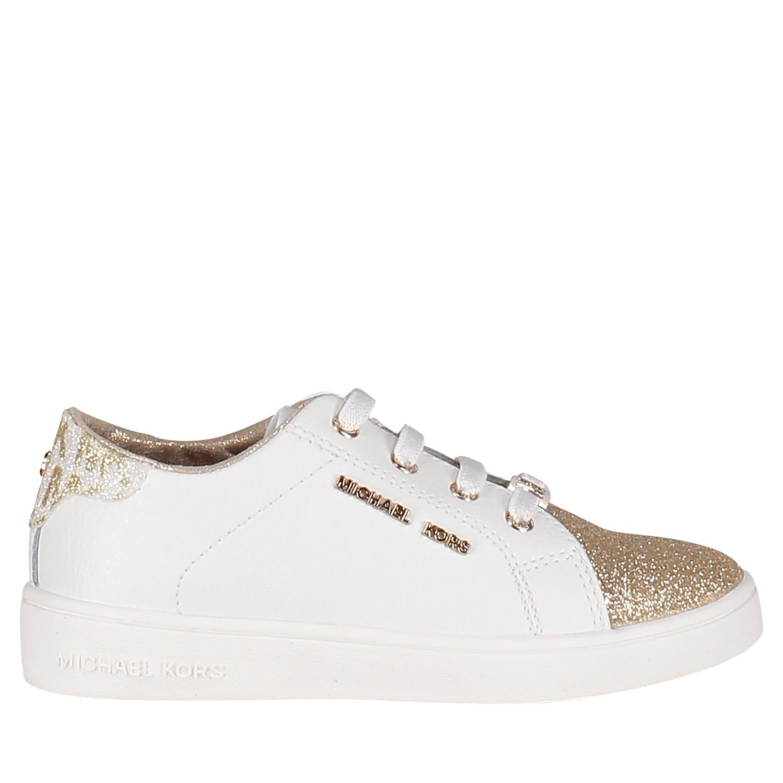 be54f9a38c7 Michael Kors Zia Ivy Martin meisjes kindersneakers goud bij Coccinelle