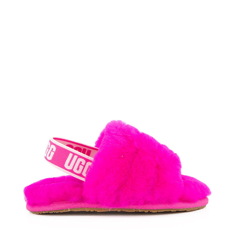 Afbeelding van Ugg 1098579 kindersloffen roze