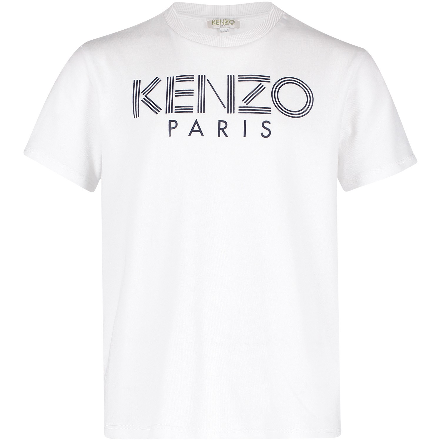 Picture of Kenzo KN10658 kids t-shirt white